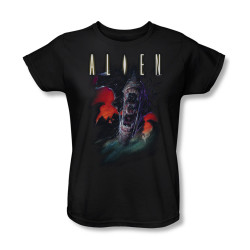 Image for Alien Woman's T-Shirt - Double Jaws