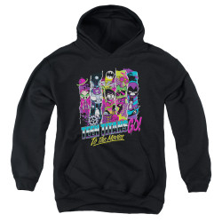 Image for Teen Titans Go! Youth Hoodie - Go to the Movies Logo