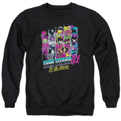 Image for Teen Titans Go! Crewneck - Go to the Movies Logo