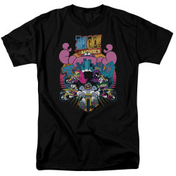 Image for Teen Titans Go! T-Shirt - Go to the Movies Burst Through