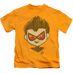 Image for Teen Titans Go! Kids T-Shirt - Go to the Movies Beachy Robin