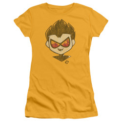 Image for Teen Titans Go! Girls T-Shirt - Go to the Movies Beachy Robin