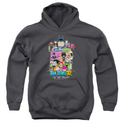 Image for Teen Titans Go! Youth Hoodie - Go to the Movies Hollywood