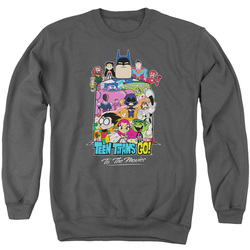 Image for Teen Titans Go! Crewneck - Go to the Movies Hollywood