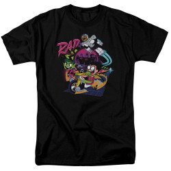 Image for Teen Titans Go! T-Shirt - Go to the Movies Rad