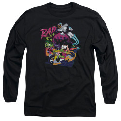 Image for Teen Titans Go! Long Sleeve T-Shirt - Go to the Movies Rad