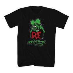 Image for Rat Fink Distressed T-Shirt