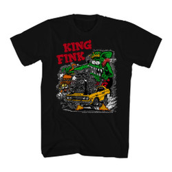 Image for Rat Fink the King of Finks T-Shirt