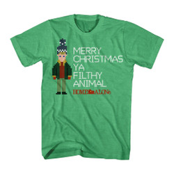 Image for Home Alone T-Shirt - Kevin Right Stitch