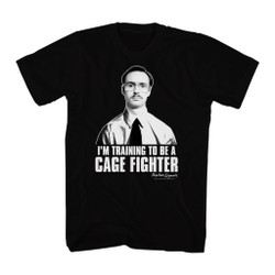 Image for Napoleon Dynamite T-Shirt - I'm Training to Be a Cage Fighter