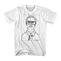 Image for Napoleon Dynamite T-Shirt - Kip by the Numbers