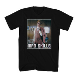 Image for Napoleon Dynamite T-Shirt - Mad Skills Suit
