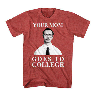 Image for Napoleon Dynamite T-Shirt - Your Mom Goes to College