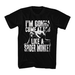 Image for Talladega Nights T-Shirt - I'm Gonna Come at You Like a Spider Monkey