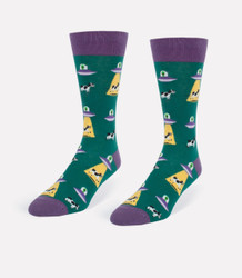 Image for Alien vs. Cows Socks