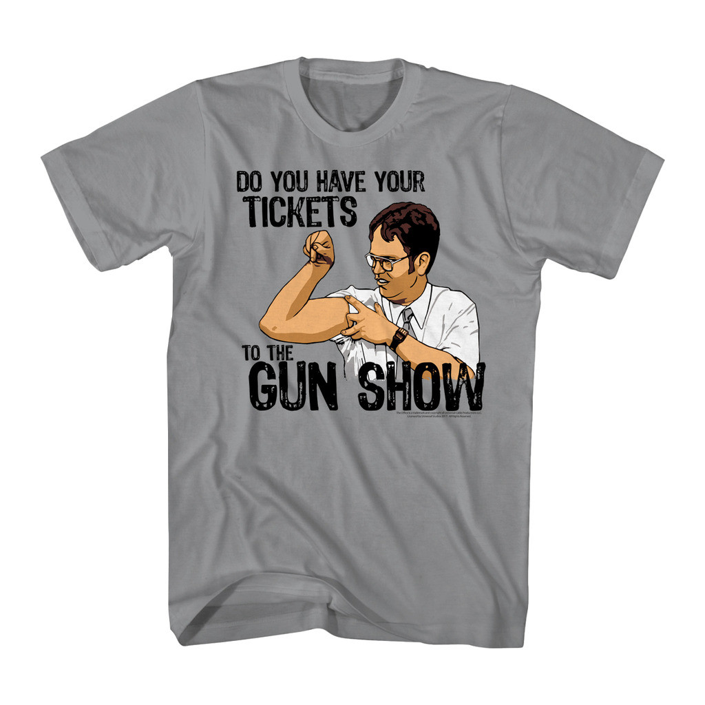 164b411b The Office T-Shirt - Do You Have Your Tickets to the Gun Show?