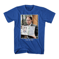 Image for The Office T-Shirt - Dwight Acronym