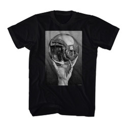 Image for M.C. Escher T-Shirt - Reflecting Sphere
