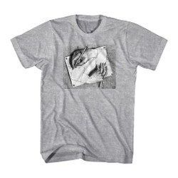 Image for M.C. Escher T-Shirt - Drawing Hands