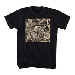 Image for M.C. Escher T-Shirt - Classic Relativity