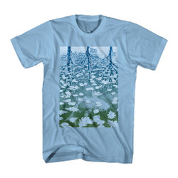 Image for M.C. Escher T-Shirt - Fish Pond