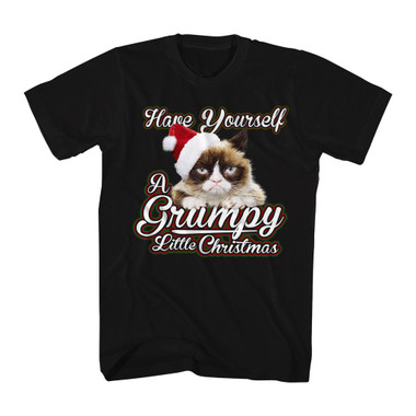 Image for Grumpy Cat T-Shirt - Grumpy Little Christmas