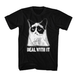 Image for Grumpy Cat T-Shirt - Deal With It