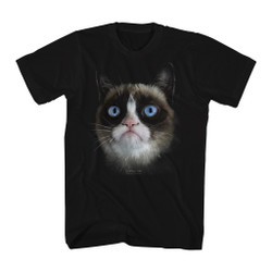 Image for Grumpy Cat T-Shirt - Big Grumpy Face