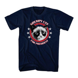 Image for Grumpy Cat T-Shirt - Grumpy for President