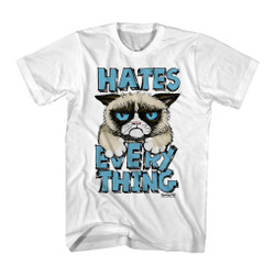 Image for Grumpy Cat T-Shirt - Hates Everything
