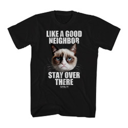 Image for Grumpy Cat T-Shirt - Good Neighbor