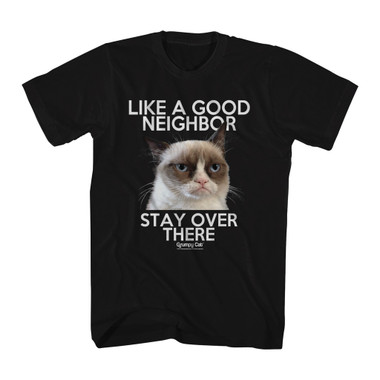 Image for Grumpy Cat T-Shirt - Like a Good Neighbor