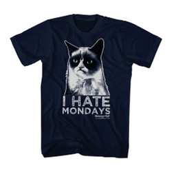 Image for Grumpy Cat T-Shirt - Mondays