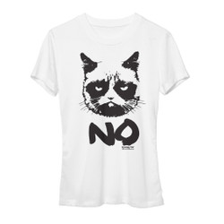 Image for Grumpy Cat Grumpy No Girls T-Shirt