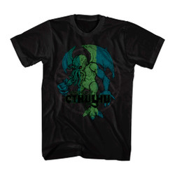 Image for Cthulhu Distressed T-Shirt