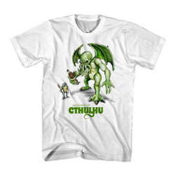 Image for Cthulhu Illustration T-Shirt