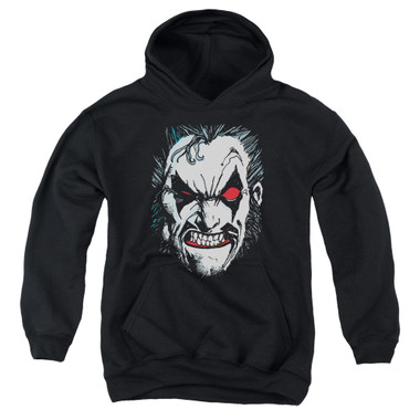 Image for Lobo Youth Hoodie - Face