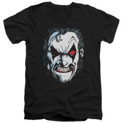 Image for Lobo V-Neck T-Shirt - Face