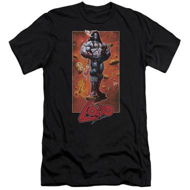 Image for Lobo Premium Canvas Premium Shirt - Rock Pose