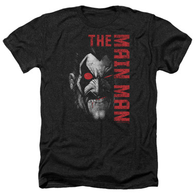 Image for Lobo Heather T-Shirt - the Main Man
