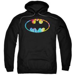 Image for Batman Hoodie - Tie Dye Logo