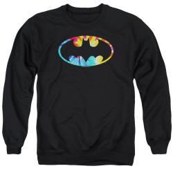Image for Batman Crewneck - Tie Dye Logo