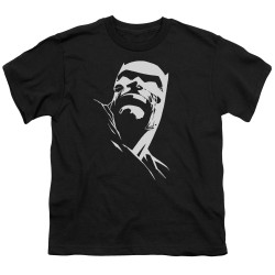 Image for Batman Youth T-Shirt - Contrast Profile Head