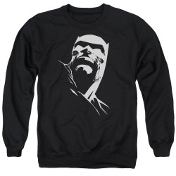 Image for Batman Crewneck - Contrast Profile Head