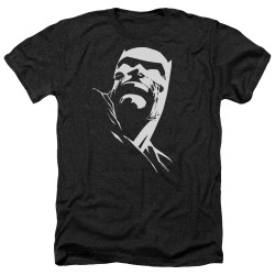 Image for Batman Heather T-Shirt - Contrast Profile Head
