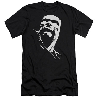 Image for Batman Premium Canvas Premium Shirt - Contrast Profile Head