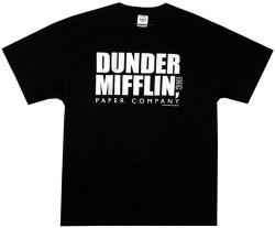 Image for The Office Dunder Mifflin Logo T-Shirt