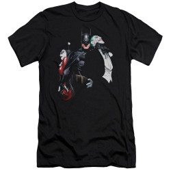Image for Batman Premium Canvas Premium Shirt - Harley Choke
