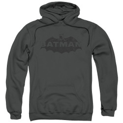 Image for Batman Hoodie - Newsprint Logo