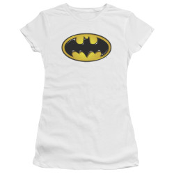 Image for Batman Juniors Premium Bella T-Shirt - Airbrush Bat Symbol